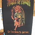 Cradle Of Filth - Patch - Cradle Of Filth - Get Thee Behind Me Satan, BackPatch