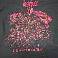 Deströyer 666 - TShirt or Longsleeve - Deströyer 666 A Sermon to the Dead Tour shirt