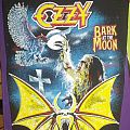Ozzy Bark at the moon backpatch