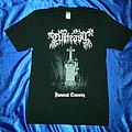 """evilfeast """"funeral sorcery"""" shirt"""