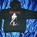 """cradle of filth """"vestal masturbation"""" hoodie Hooded Top"""
