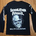 Demolition Hammer - TShirt or Longsleeve - Demolition Hammer 2018 Tour Long Sleeve Shirt
