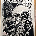 Jeff Hanneman - Other Collectable - Slayer Jeff Hanneman Anti-Christ Kramer Tribute Poster