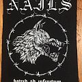 Nails - Patch - Nails Back Patch