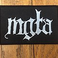 Mgła - Patch - Mgla Logo Patch
