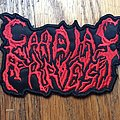 Cardiac Arrest - Patch - Cardiac Arrest Logo Patch Death Metal