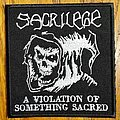 Sacrilege - Patch - Sacrilege Reaper Embroidered Patch