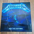 Metallica - Other Collectable - Metallica Ride The Lightning Record Size Poster
