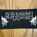 Massacre (USA) - Patch - Massacre Band Logo Patch