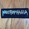 Necrophagia - Patch - Necrophagia Logo Iron On Patch