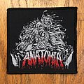 Anatomia - Patch - Anatomia Logo Band Patch Death Metal