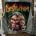 Destruction - Battle Jacket - New vest