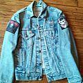Blue denim metal jacket