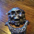 Discharge metal pin Pin / Badge