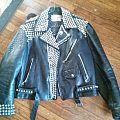 Old GISM Leather Battle Jacket