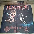 "Blasphemy ""Gods of war "" POSTER FLAG"