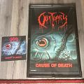 Obituary cause of Death poster Blue Grape Merch.+LP