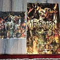 Incantation - Other Collectable - Incantation the Infernal Storm promo poster+LP