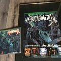 Benediction - Other Collectable - Benediction transcend the rubicon promo poster+LP
