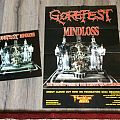 Gorefest - Other Collectable - Gorefest mindloss Promo poster+LP