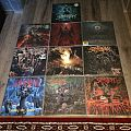 Suffocation vinyl collection
