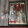 Death - Other Collectable - Death human poster+LP