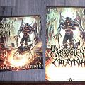 Malevolent Creation - Other Collectable - Malevolent Creation invidious dominion LP+poster