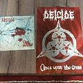 Deicide - Other Collectable - Deicide Once upon the cross promo poster+LP