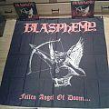 "Blasphemy ""Fallen angel of doom..."" POSTER FLAG"