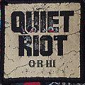Quiet Riot QR III Patch