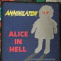 Annihilator Alice In Hell Patch