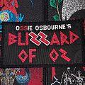 Ossie Osbourne's Blizzard Of Oz Patch
