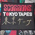 Scorpions Tokyo Tapes Patch