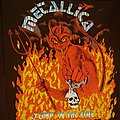 Metallica Jump in the Fire Backpatch