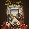 Exhorder - Patch - Exhorder Slaughter in the Vatican Backpatch