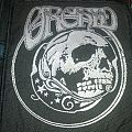 Orchid woven patch