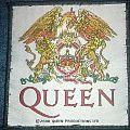 Queen woven patch