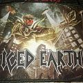 Iced Earth Dystopia printed patch