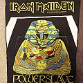 original Iron Maiden back patch