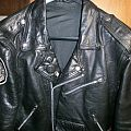 Volahn - Battle Jacket - Black Twilight Circle leather battle jacket RIP