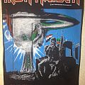Iron Maiden - Patch - Iron Maiden - 2 Minutes to Midnight backpatch; circa 1984