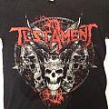 Testament Australian Tour Shirt; circa 2009