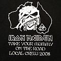TShirt or Longsleeve - Iron Maiden – Australian Crew Shirt; circa 2008