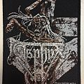 Asphyx - Patch - Asphyx – Crush the Cenotaph patch, Century Media Records; circa 1993