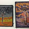Patch - Testament – PWYP and Agnostic Front – original patches