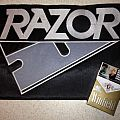 Razor - Patch - Large embroidered RAZOR logo patch for trade