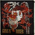 Guns N' Roses - Patch - Guns N' Roses – Appetite for Destruction patch; circa 1987/88