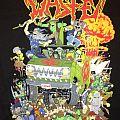 Municipal Waste 2013 Australian tour shirt