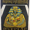 Iron Maiden - Patch - Iron Maiden - Powerslave backpatch; circa 1984
