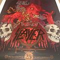 Slayer - Other Collectable - Slayer live in Sydney 2013 poster - #22/300